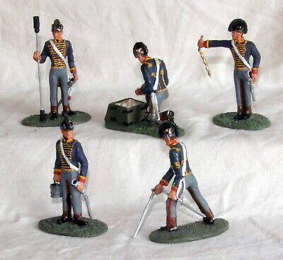 w britains napoleonic british horse artillery lead toy soldiers