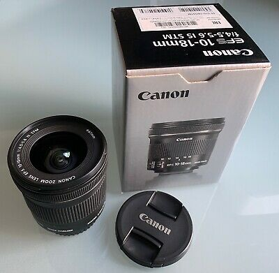 CANON EF-S 10-18 mm 4.5-5.6 STM IS