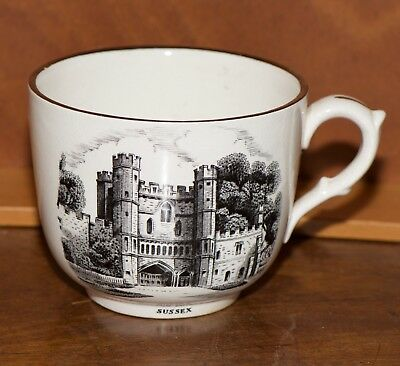 GRAY'S POTTERY Battle Abbey Sussex Large Cup
