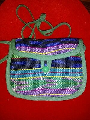 Assortment Of Small Bags & Purses, Hand Made In Guatamala