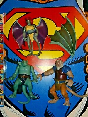 Vintage Gargoyles Action figure lot monsters by Kenner 1990's 💀☠️👻👹👺