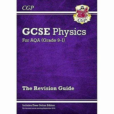 New Grade 9-1 GCSE Physics: AQA Revision Guide with Online Edition,CGP Books