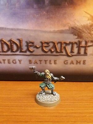 Dwarf Captain Fine Cast OOP - Hobbit, Middle Earth, Lord of the Rings SBG
