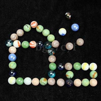 Glass Marbles Round Pack Of 45X Children'S Toy Or Decorator Or Craft Marbles New