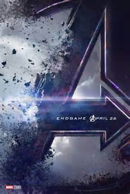 Avengers Endgame 27x40 Double Sided Movie Theater Poster Teaser Marvel!