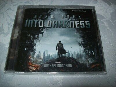 CD - Star Trek Into Darkness - MICHAEL GIACCHINO - 2 CDS -DELUXE EDITION- SEALED