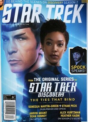 Brand New 2019 Star Trek Discovery Ties That Bind The Official Magazine 2019