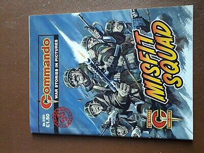 MISFIT SQUAD Commando comic 4404 year 2011 Issued to mark 50th year anniversary