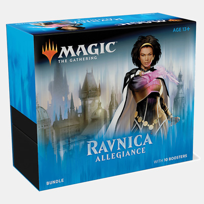 Magic The Gathering Ravnica Allegiance Fat Pack 10 Booster Box Bundle Draft Pack