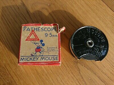 """VINTAGE MICKEY MOUSE 9.5  PATHESCOPE FILM  BOXED """"Felix has a piping hot time """""""