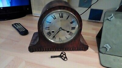 Vintage hac Striking mantel clock In working Order