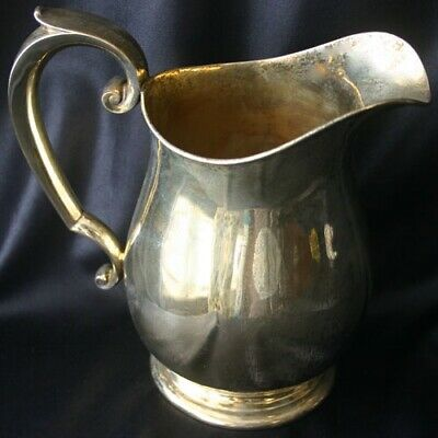 WATSON International STERLING Vermeil 4 Pint Pitcher