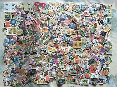 Over 1000 Stamps From The Caribbean