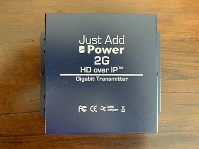 Just Add Power 2G HD over IP HDMI Transmitter VBS-HDIP-208A 1080P Distribution
