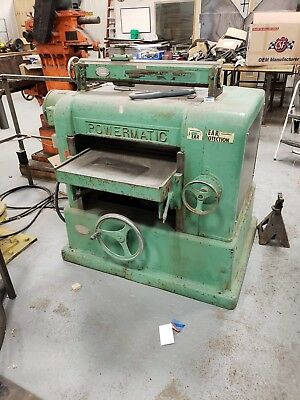 Powermatic 225 Planer
