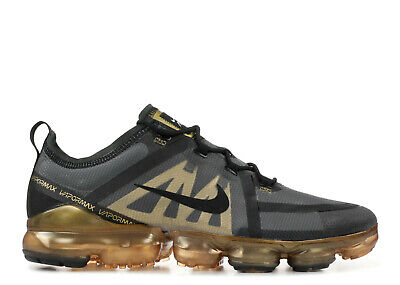 SALE Nike Air VaporMax 2019 Black Gold AR6631-002