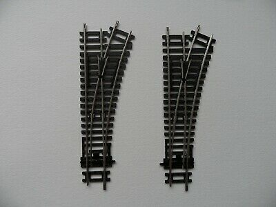 Hornby R8073 Right Hand Points x 2 OO Gauge