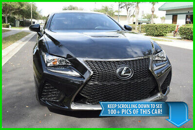 2016 Lexus RC F REAL RC-F (NOT AN RC350 F SPORT) - 18K MILES - BEST DEAL ON EBAY RC-F RCF RC350 350 F SPORT LC500 BMW M4 M3 AUDI S5 CADILLAC ATS-V CTS-V CTS V