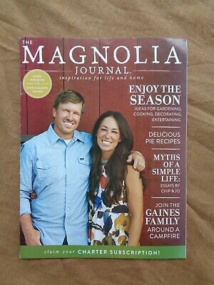 The Magnolia Journal Magazine Preview Sample 2017 ~ 29 pages ~ Subscription Card