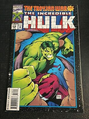 Incredible Hulk#416 Incredible Condition 8.5(1994) Silver Surfer, Starjammers!!