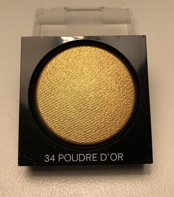 CHANEL Make Up Tester - Ombretto in polvere lunga tenuta - n 34 Poudre D'Or