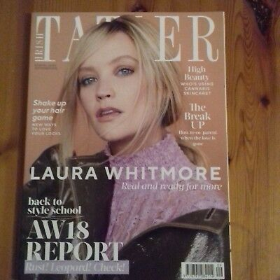 Laura Whitmore- Irish Tatler Cover Magazine--September 2018