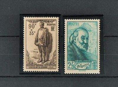 ££  Timbres   France  Neufs **  1939   N° 420  Et  421   ££