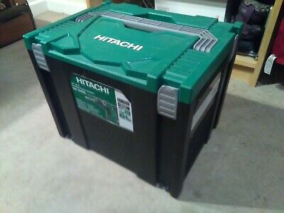 Hitachi HSC4 Type 4 Stackable System Case- stacks w/ Makita Makpak and Systainer