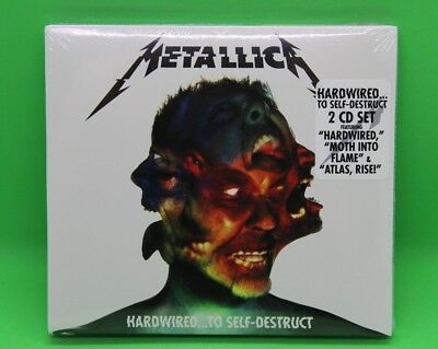 Metallica Hardwired…To Self-Destruct 2 CD Set - Brand New & Sealed