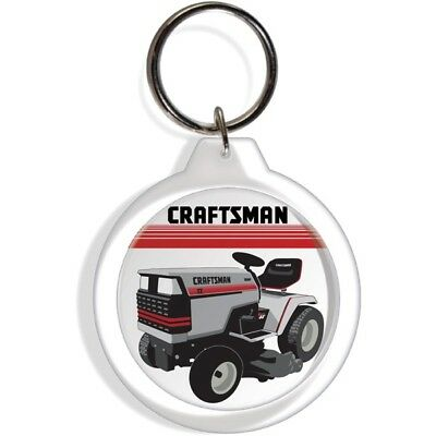 Sears Craftsman 2 Ii Garden Farm Tractor Keychain Key Chain Ring Fob Kolder Part