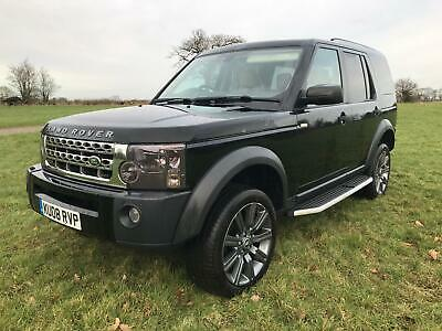 Landrover Discovery 3 TDV6 XS 7 Seat Manual No Reserve