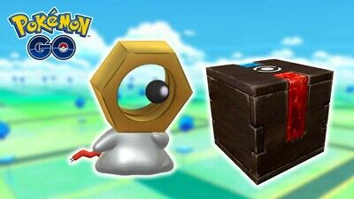 Meltan Mystery Box - Pokemon Go - 100% Safe less than 24h