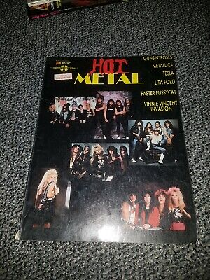 Hot Metal guitar tablature book- Cherry lane
