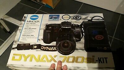 Minolta Dynax 700si SLR Camera Kit, with AF28-105 lens, instructions, carry case
