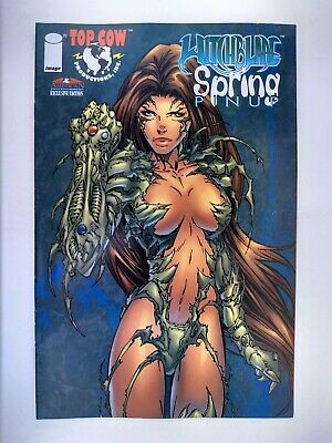Witchblade Spring Pin-Up #1 (VF) Image Top Cow One-shot 1997!
