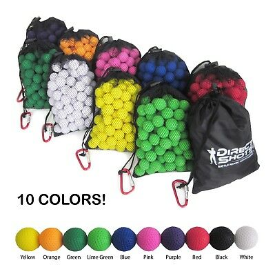 Premium, Accurate Ammo Balls for Nerf Rival Guns - 120 Pcs - 10 Colors Available
