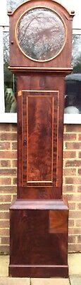 Rosewood Longcase / Grandfather Clock Case Only