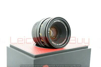 "Leica Summicron-R 50mm f/2 MF ""R Only"" Lens German Made #3677382"
