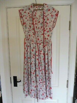 Vintage sleeveless dress by 'Tudor' 1940's era