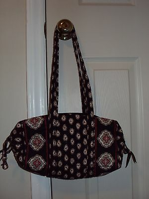 Womens Cute Vera Bradley Classic Black Purse/Pocketbook/ Christmas Gifts For Her