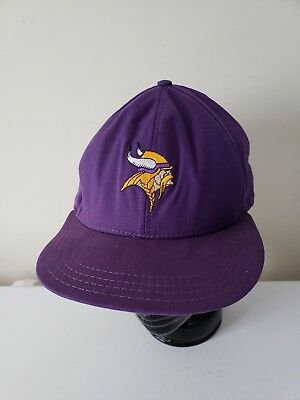 0018d02bd Minnesota Vikings AJD Direct Embroidery Proline Vintage NFL Snapback Cap Hat