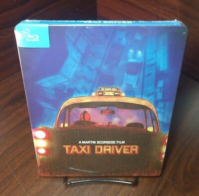 TAXI DRIVER 1976 (Blu-ray PopArt)Limited Steelbook-NEW-Free Box S&H w/Tracking