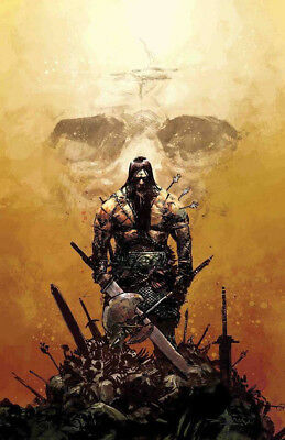CONAN THE BARBARIAN #1 Zaffino Virgin Variant Limited to ONLY 1000 New NM Marvel