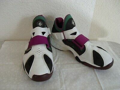 3823d5868f7 Retro Vintage Nike Air Huarache Mens Running Athletic Shoes Emerald Berry  12 Med 1 of 10 ...