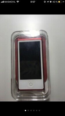 Apple iPod nano 7th RED EDITION