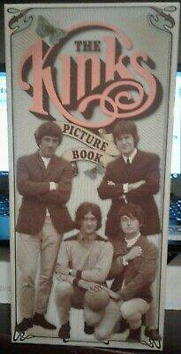 The Kinks 6 CD Picture Book box Sanctuary Ray & Dave Davies Rare Out Of Print