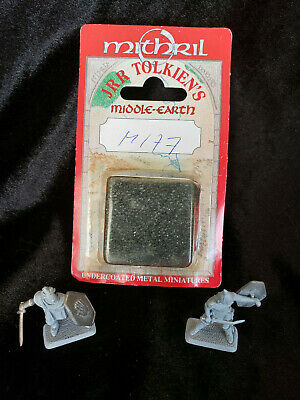 M177 DUNLENDINGS OF ISENGARD ! MITHRIL MINIATURES ! LotR ! Complete!