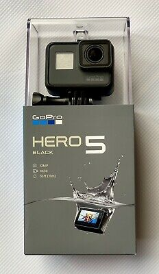 GoPro HERO5 4K 12MP Black Brand New Sealed