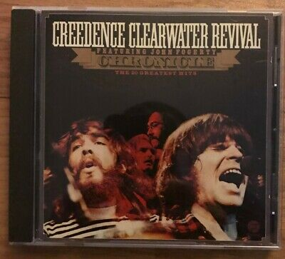 CREEDENCE CLEARWATER REVIVAL CCR Foggerty Greatest Hits Chronicle CD Excellent