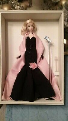 "2009 Barbie ""Since 1959 - Stunning in the Spotlight"" Silkstone Barbie Doll NEW i"
